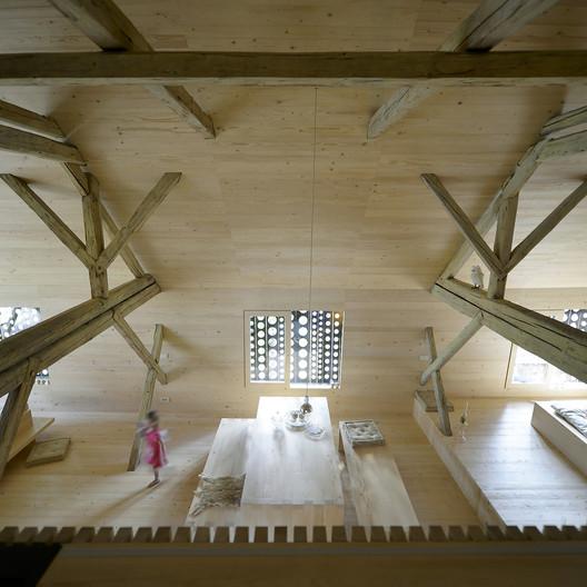 architettura slovenia camera ospiti