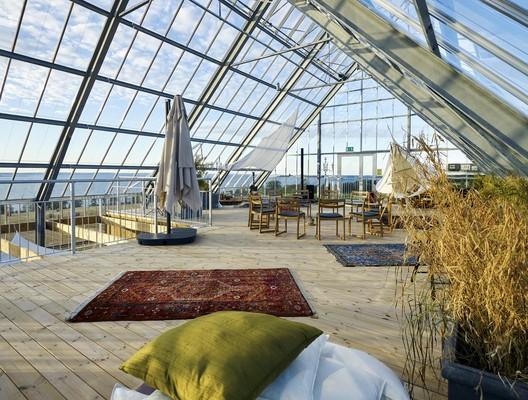 architettura sostenibile serra
